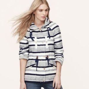 Loft Breton Anorak Nautical Striped Jacket